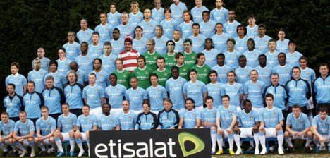 Zlatan featured in Man City 'squad'