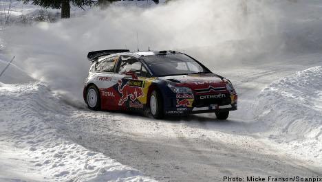 Rally champ Loeb set for icy Swedish opener