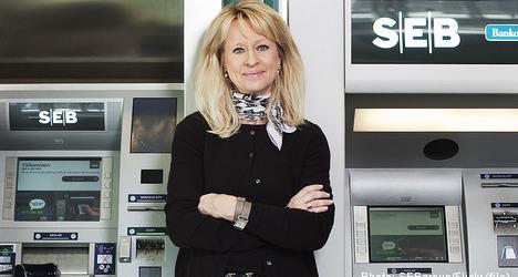 Profits mount at Sweden's SEB bank