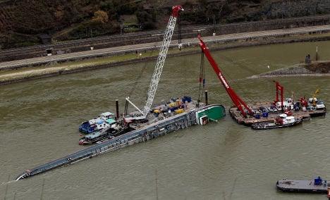 Tanker acid pumped into Rhine River