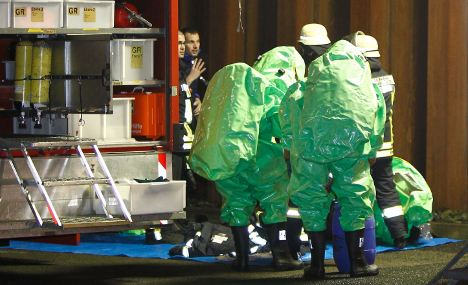 Chemical accident sparks major rescue operation