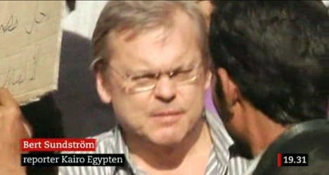 Swedish reporter stabbed in Cairo drama