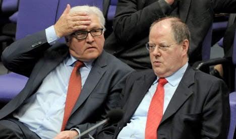 Steinbrück slaps down candidacy for ECB job