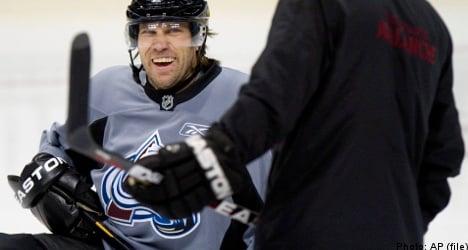 Swedish star Forsberg returns to NHL club