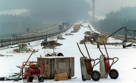Harsh winter hits growth