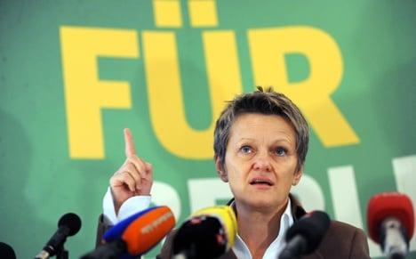 Künast calls inequality in top jobs unconstitutional