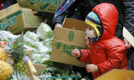 Japanese food import checks tightened