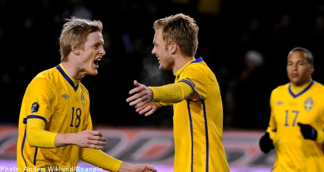 Sweden beats Moldavia in Euro 2012 qualifier