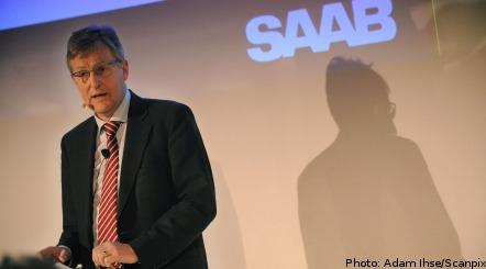 Saab CEO resigns after 'three demanding years'