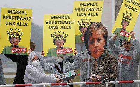 German media roundup: Merkel's nuclear U-turn