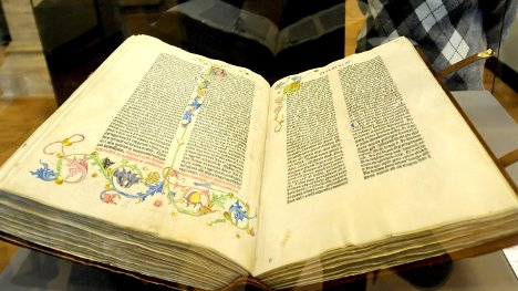 Berlin state library displays treasures for 350th anniversary
