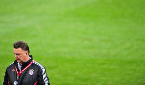Van Gaal to leave Bayern Munich at end of season