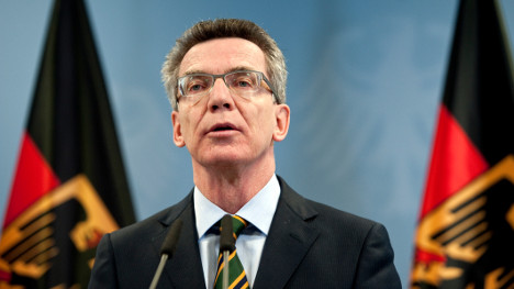 De Maizière to become defence minister