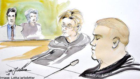 Örebro rape suspect faces court