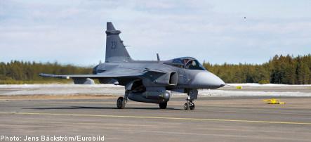 Swedish Gripen fighters on Libya standby