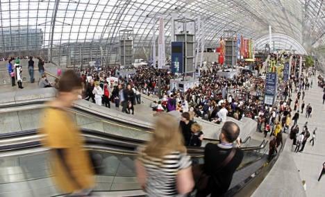 Leipzig Book Fair eyes record attendance rate