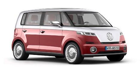 VW unveils new 'Bulli' bus prototype