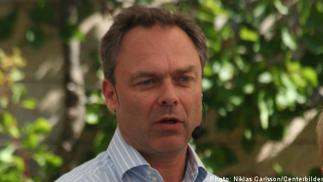 Björklund: Swedish arms exports 'embarrassing'