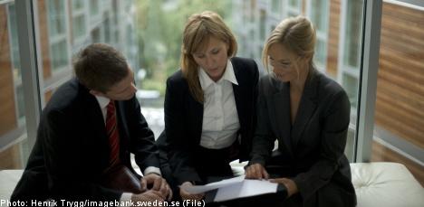'Gender quotas would benefit Sweden's corporate boards'