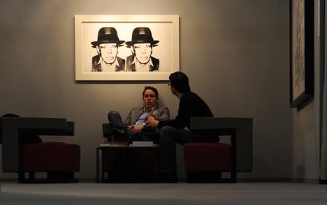 Modern art stolen from Deutsche Bank