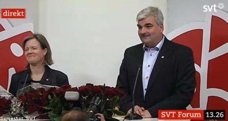 Dark horse MP named as Sahlin's successor
