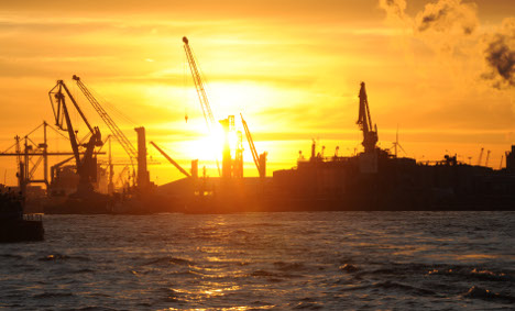 Hamburg port preps for radioactive ships