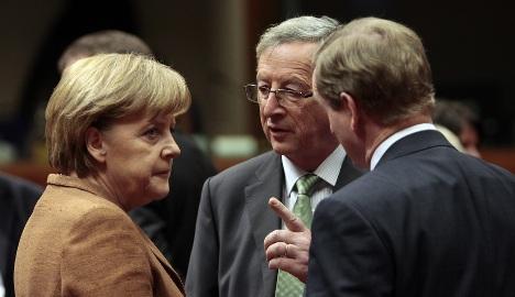 Merkel annoys Europe with euro change