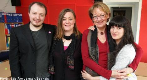 Swedish feminists elect leadership triumvirate