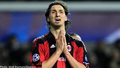 Milan appeals Zlatan suspension