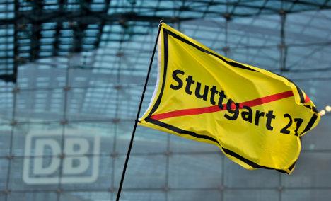 Deutsche Bahn halts Stuttgart 21 construction