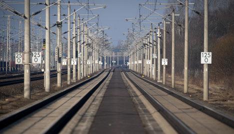 Train drivers on strike