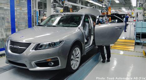 Unpaid bills halt Saab car production