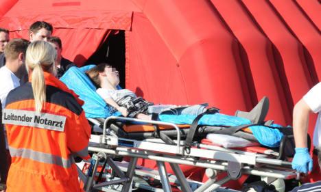Teens injured in pop idol event stampede