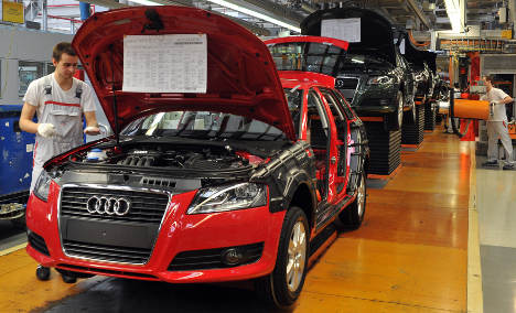 Audi net profit nearly doubled in 2010