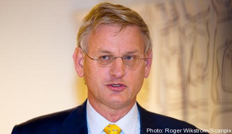'Next few days the most crucial': Bildt