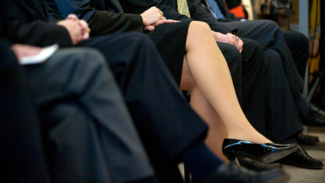 Top corporations resist quota for hiring women execs