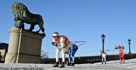 Sweden's Jönsson wins Stockholm palace sprint