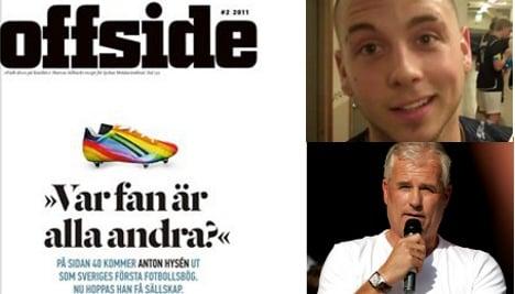 Swedish great Hysén's footballing son: I'm gay