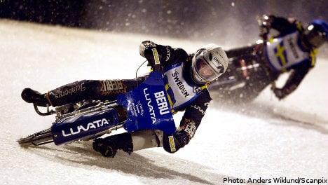 Swedish ice racer dies after high-speed crash