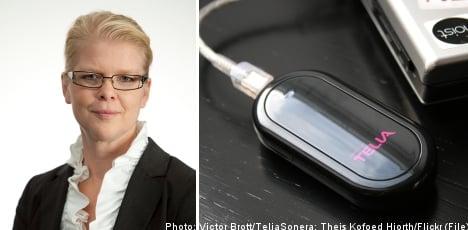TeliaSonera executive named Sweden's top businesswoman