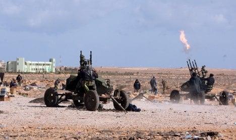 Berlin annoyed as Paris recognizes Libyan rebels