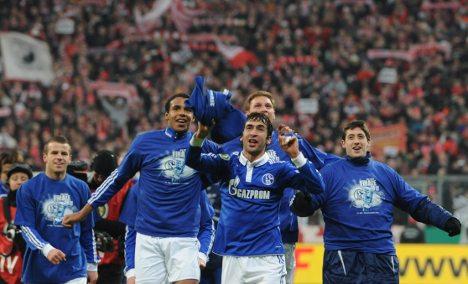 Schalke's Magath gets revenge as struggling Bayern exit Cup