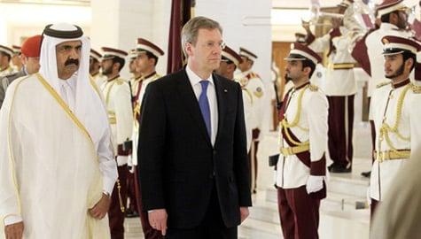 President Wulff slams German policy toward Arab despots