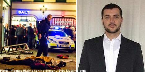 UK suspect 'financier' behind Stockholm bomb