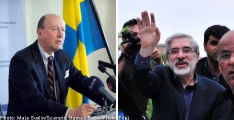 Sweden raps Iran envoy over opposition arrests