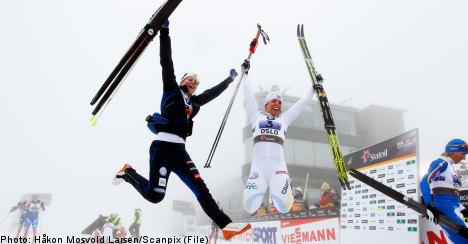 Swedish women nab Nordic skiing gold