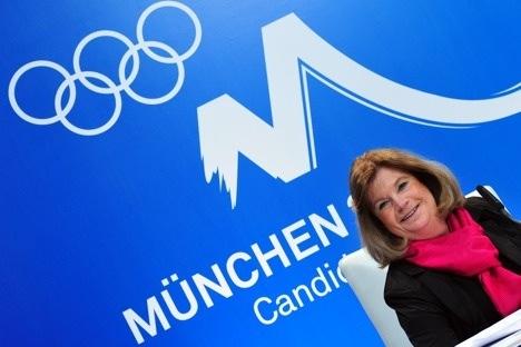Munich Olympic bid 'strong' says IOC delegation boss