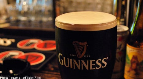 A pint for St. Paddy's in Malmö