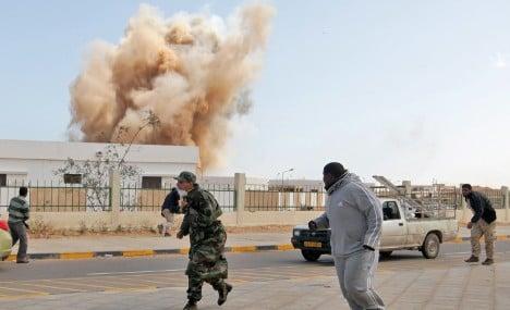 Germany calls Libyan no-fly zone 'risky'