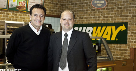 Subway plans massive Sweden expansion